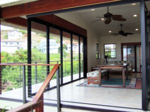 Marina's Ridge Lanai with Nana Wall Doors